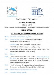 Bosco Programme Journée Luberon 22.10.2016